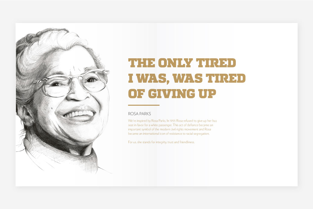 rosa parks stars and stories typography
