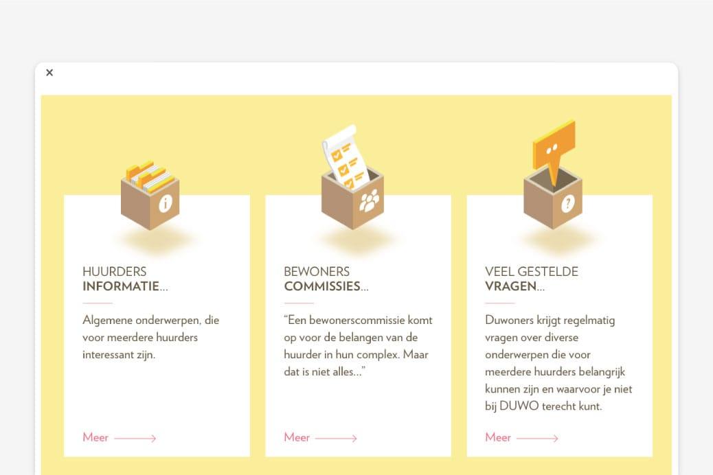 webdesign duwoners website ontwerp
