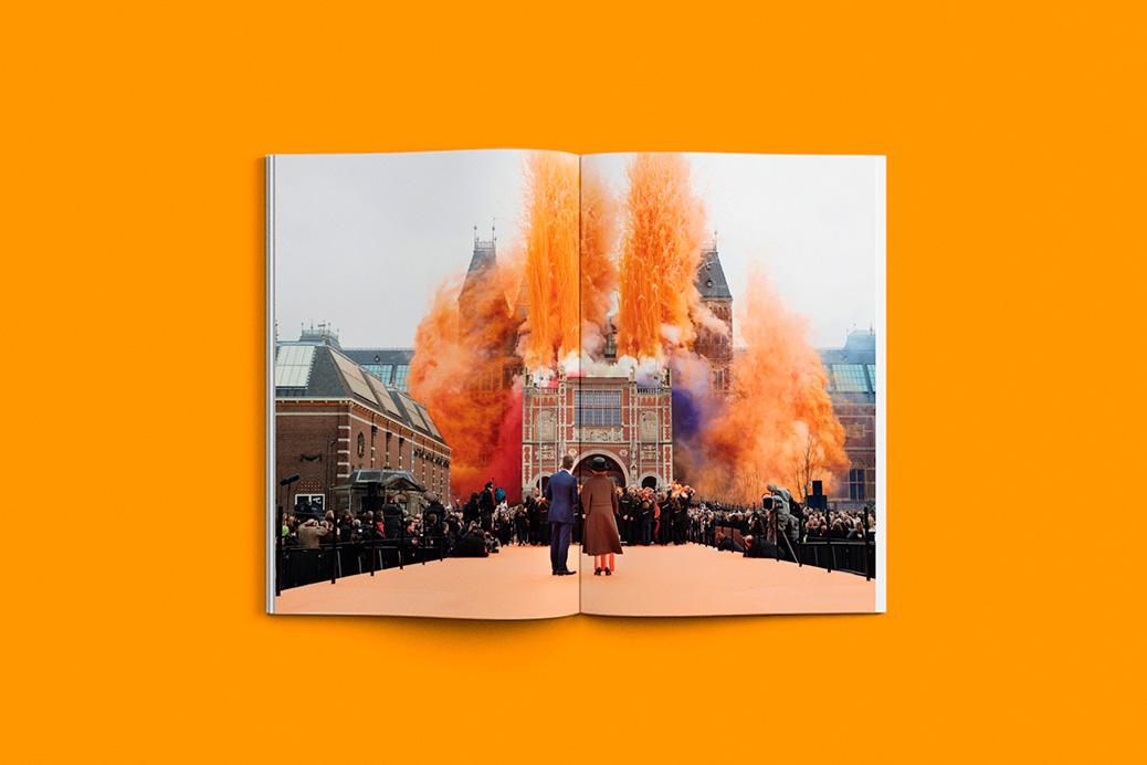 het koninklijk huis annual report photography design