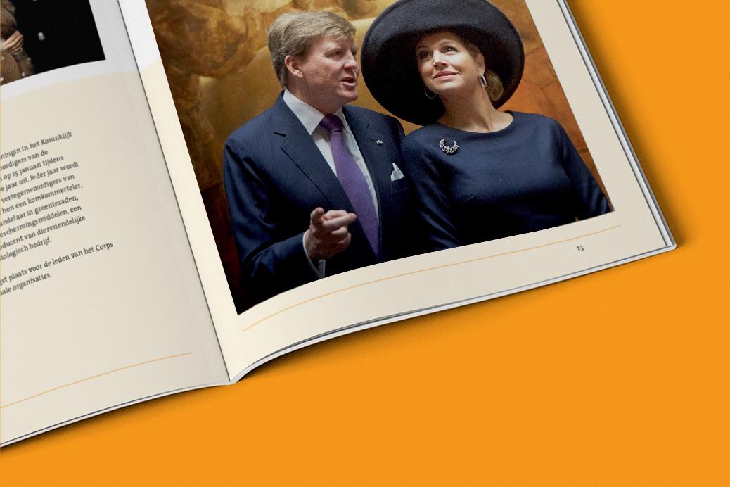 het koninklijk huis jaarverslag