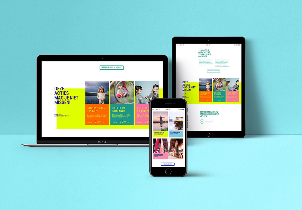 responsive webdesign stayokay mockup tablet iPhone iPad tablet