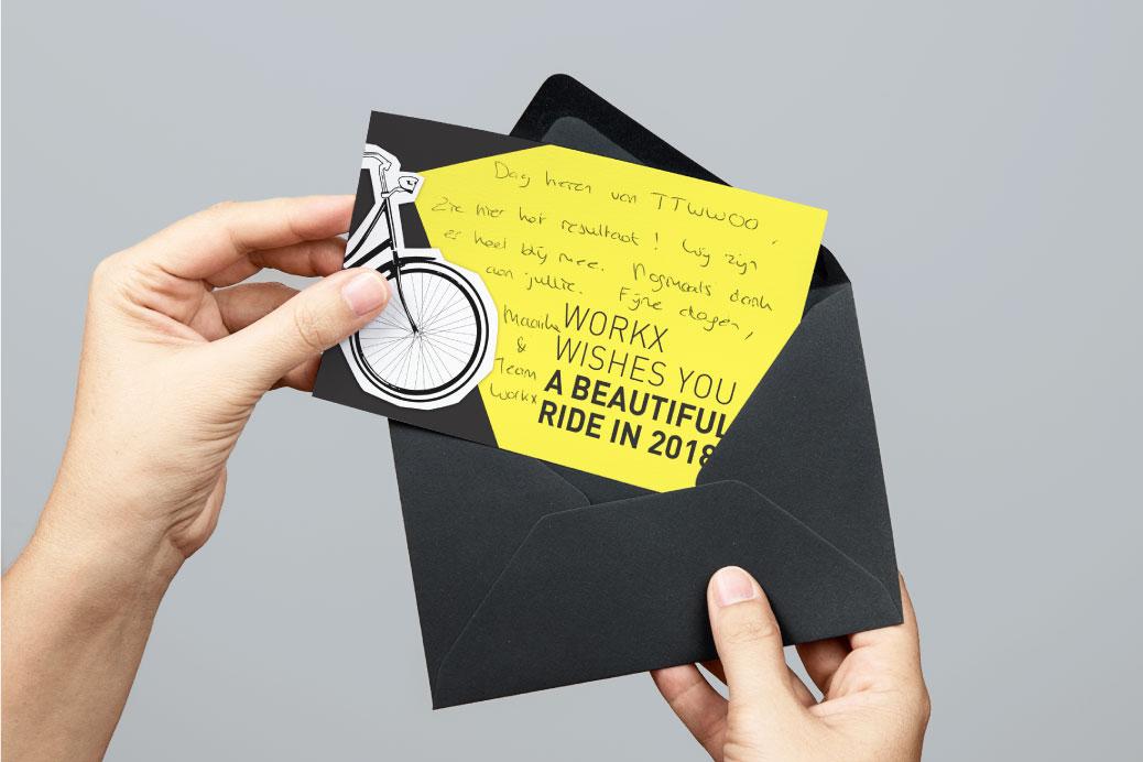 workx advocatenkantoor envelop postcard ontwerp