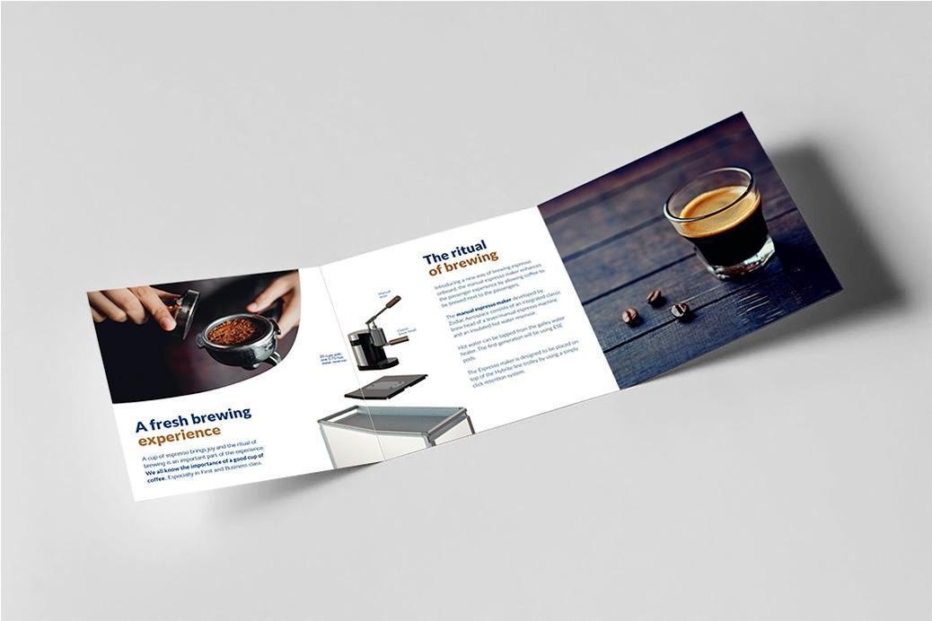 zodiac design brochure coffee