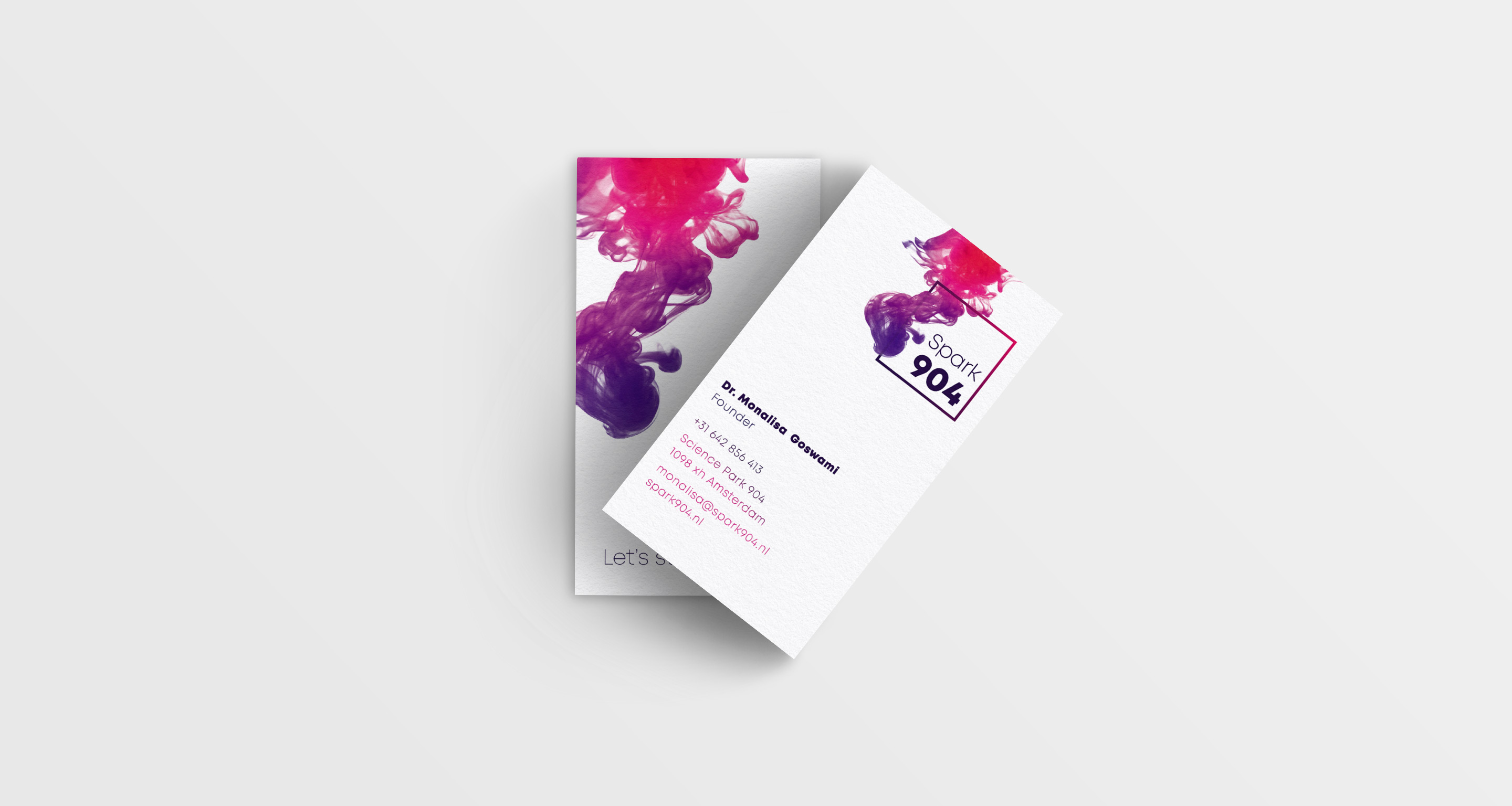 briefpapier businesscards spark904 corporate identity
