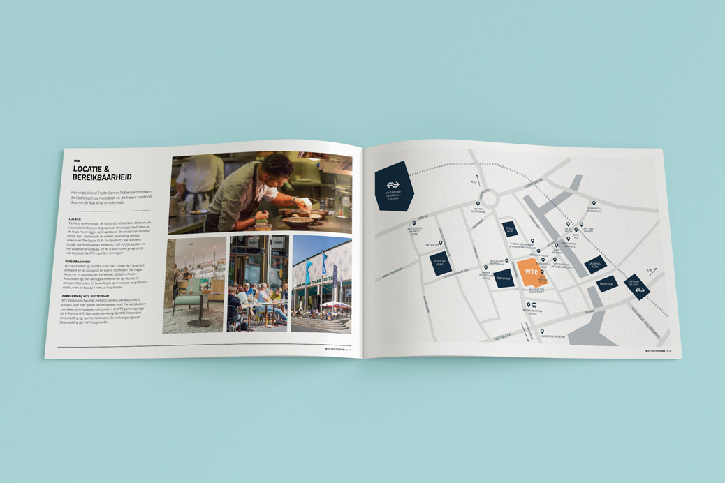 wtc brochure opmaak map design