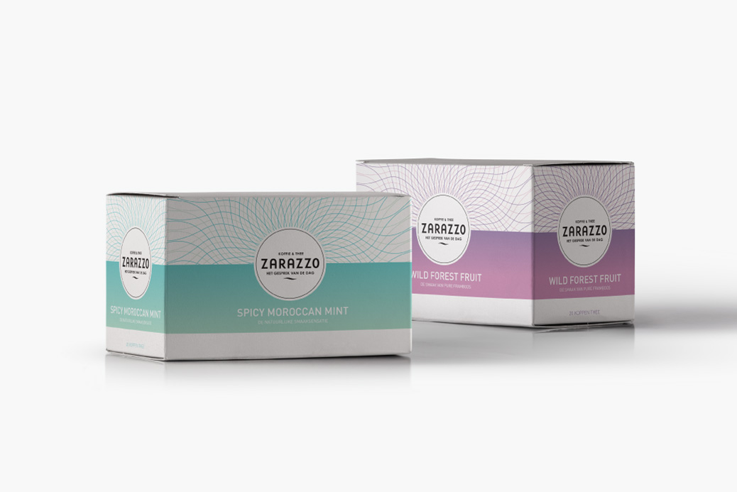 tea package box design zarazzo