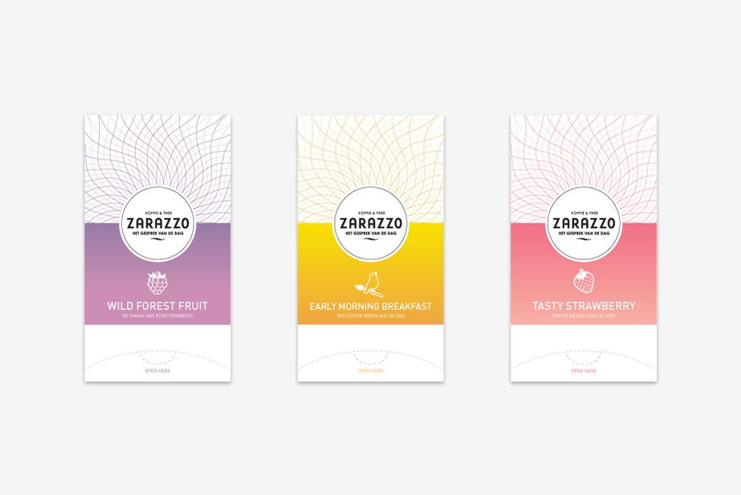 tea package design zarazzo
