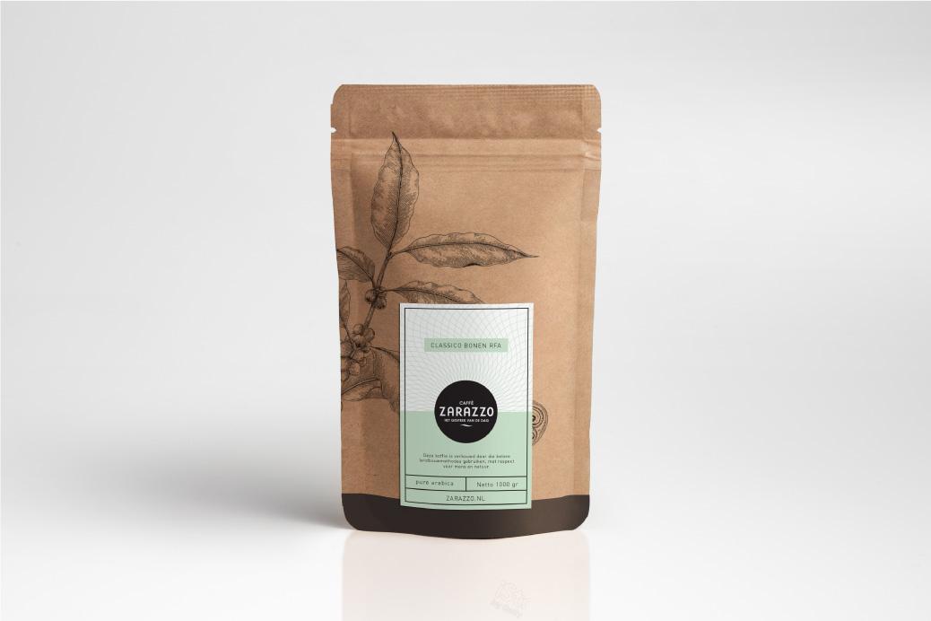 verpakking package design koffie